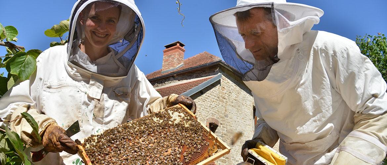Chantal et Patrice, producteurs de miel, pains d'épices et pâtes à tartiner